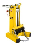 Hydraulický vyťahovač stĺpikov