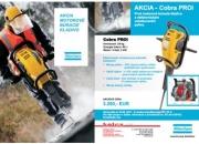 AKCIA - motorové búracie kladivo COBRA PROi s elektronickým vstrekovaním paliva