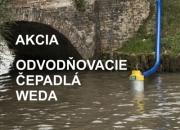 AKCIA - odvodňovacie čerpadlá WEDA