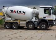 Spoločnosť MULLDEX je majiteľom nového autodomiešavača betónu Putzmeister