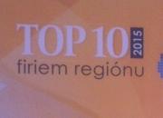 3. miesto v rebríčku TOP 10