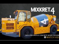 Nový produkt Putzmeister - MIXKRET 4
