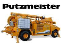 Odovzdávanie striekacieho stroja PUTZMEISTER