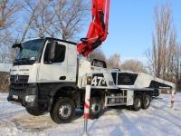 Odovzdanie čerpadla betónu BSF47 pre spoločnosť Bawer-Trans