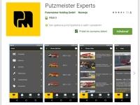 Aplikácia Putzmeister Experts