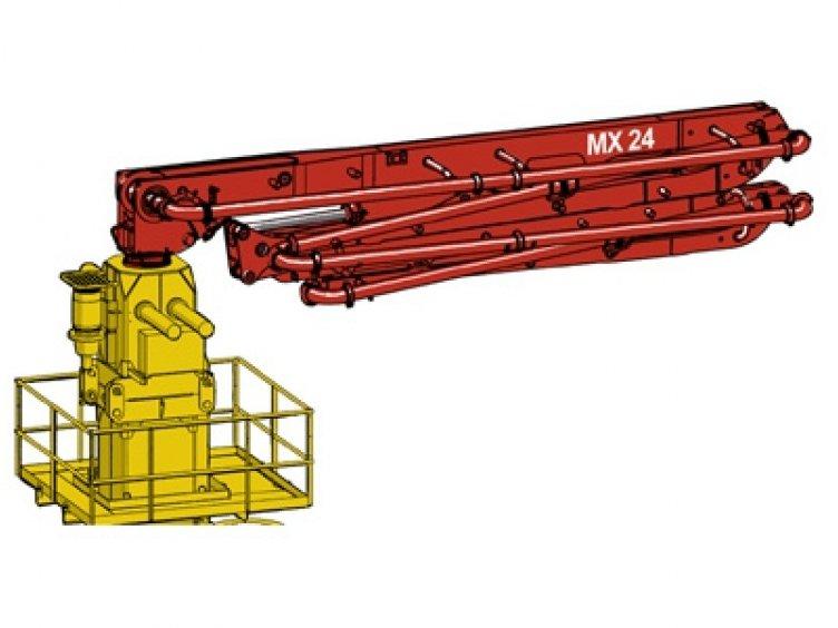 Hydraulický rozdeľovací výložník MX24