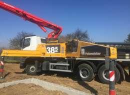 Nové čerpadlo betónu BSF38