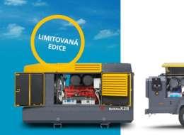 Limitovaná edícia kompresorov ATLAS COPCO