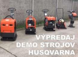 Výpredaj DEMO strojov HUSQVARNA
