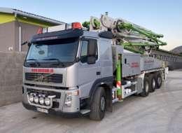 Autočerpadlo BSF42.16 HLS pracuje pre V.M.S. TRADE s.r.o.