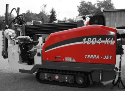 Riadené vŕtacie zariadenie TERRA JET 1804 XL