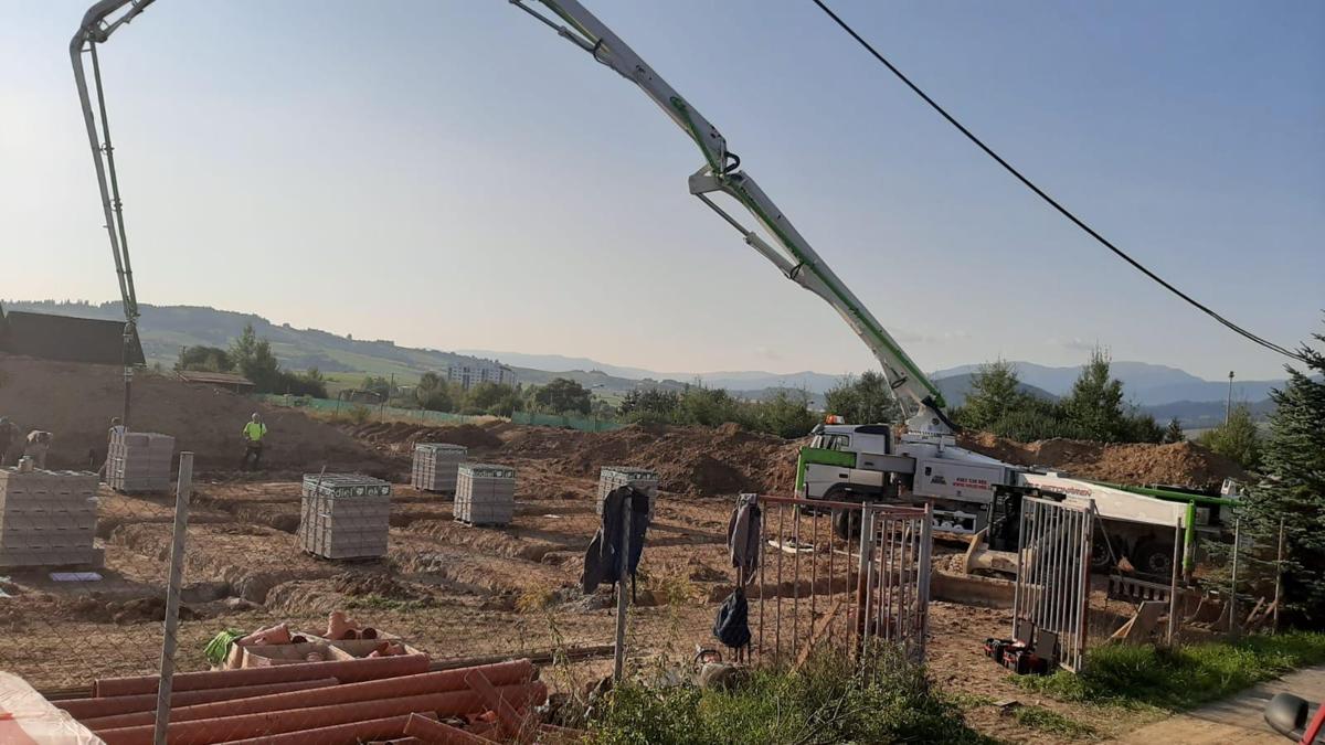 Putzmeister betonpumpa 42m