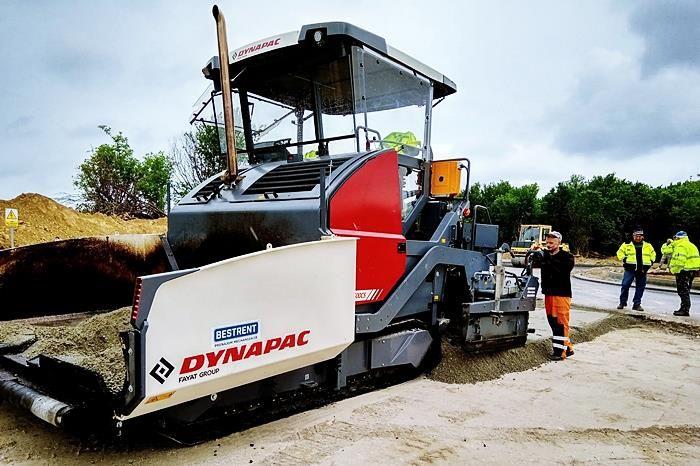 asfaltovy finiser Dynapac prenajom