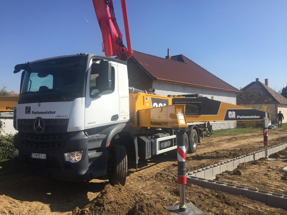 beton pumpa Putzmeister