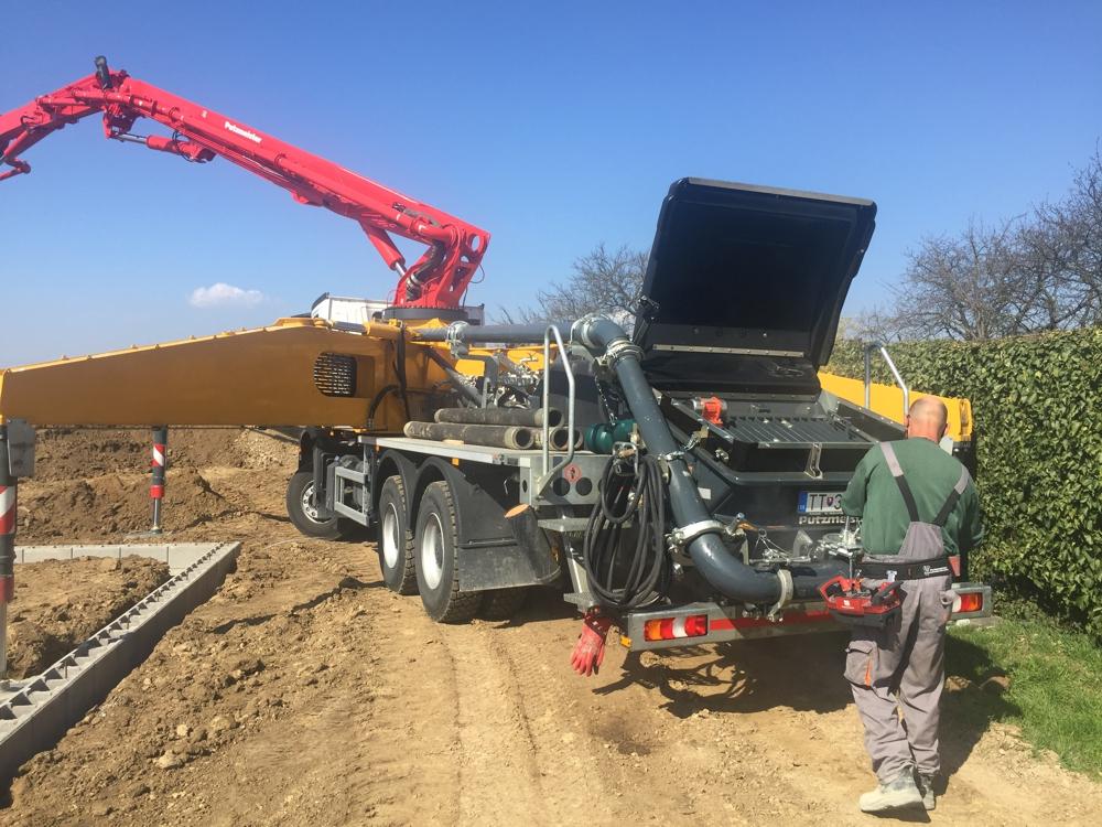 pumpa na beton Pucmajster