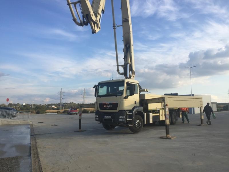pouzita betonpumpa 36m