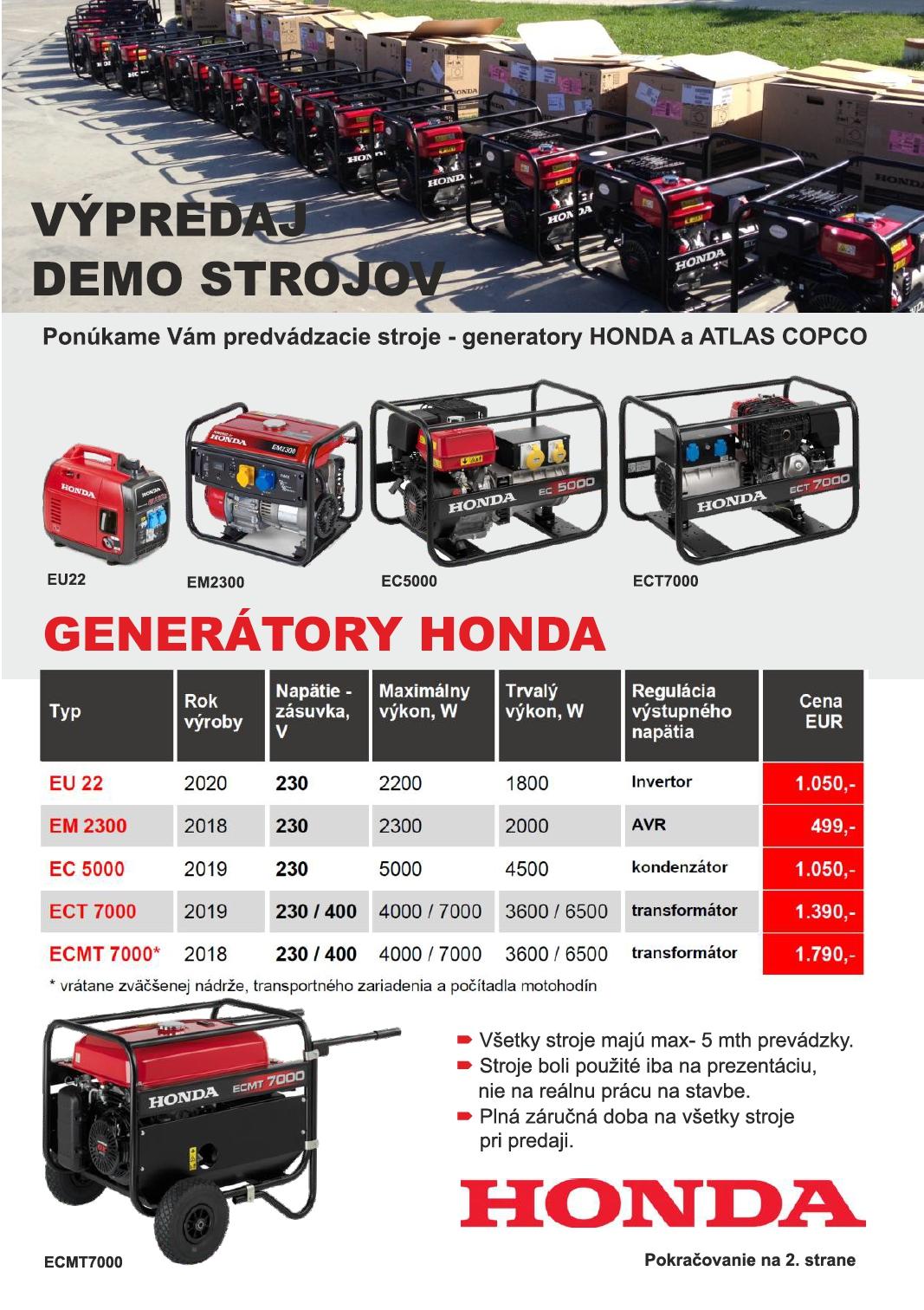 kampan demo generatory