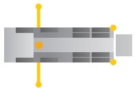 schema podopretia cerpadla